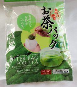 100円均一のお茶パック