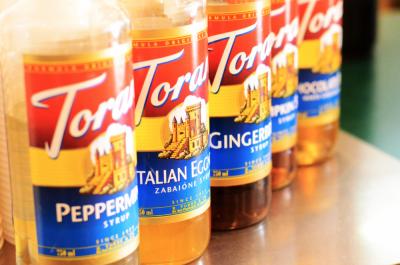 Toraniのフレーバーボトル各種