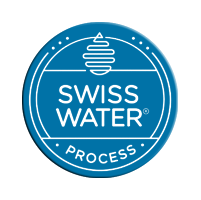 swiss water processのロゴマーク