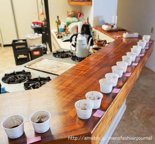 コーヒー カッピング
