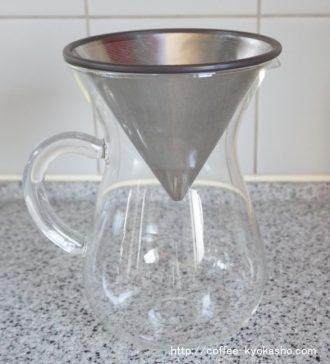 キントー ガラス製 メッシュフィルター