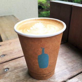ブルーボトルコーヒー シングルオリジン 青山 ラテ