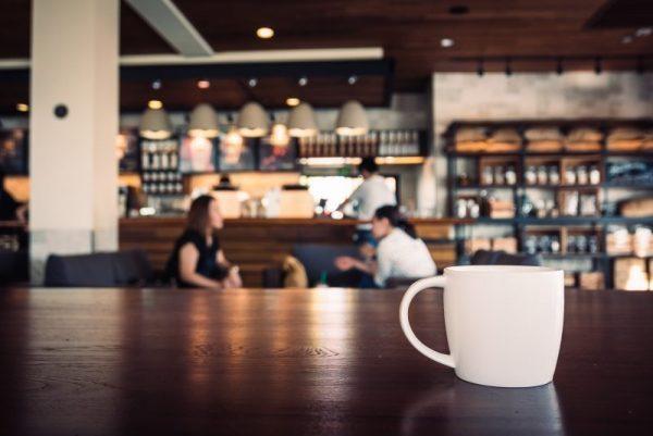 青山のコーヒーショップ