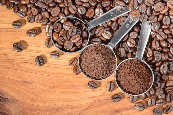 コーヒーミル 挽く目