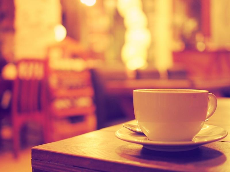 伊勢丹新宿周辺のカフェでコーヒータイム